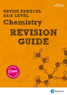 REVISE Edexcel AS/A Level Chemistry Revision Guide : with FREE online edition, Mixed media product Book