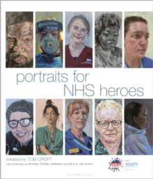 Portraits for NHS Heroes, Hardback Book