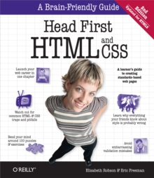 Head First HTML and CSS : A Learner's Guide to Creating Standards-Based Web Pages, EPUB eBook