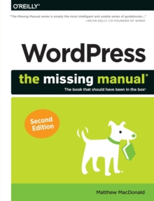 WordPress: The Missing Manual, Paperback Book