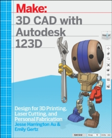 3D CAD with Autodesk 123D, Paperback Book