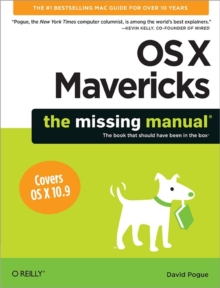 OS X Mavericks: The Missing Manual, Paperback Book
