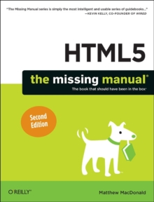 HTML5: The Missing Manual, Paperback Book