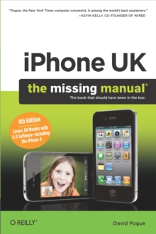 iPhone UK: The Missing Manual : The Missing Manual, PDF eBook