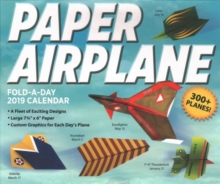 Paper Airplane Fold-a-Day 2019 Day-to-Day Activity Calendar, Calendar Book