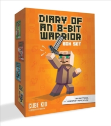 Diary of an 8-Bit Warrior Box Set Volume 1-4, Counterpack - filled Book