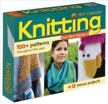Knitting 2019 Day-to-Day Activity Calendar, Calendar Book
