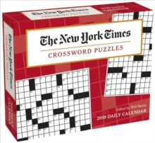 New York Times Crossword Puzzles 2019 Day-to-Day Calendar, Calendar Book