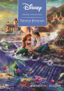 Thomas Kinkade Studios: Disney Dreams Collection 2020 Monthly Pocket Planner, Diary Book
