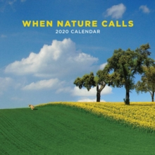 When Nature Calls 2020 Square Wall Calendar, Calendar Book