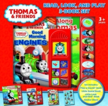 THOMAS & FRIENDS READ LOOK PLAY BOX SET, Hardback Book