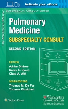 The Washington Manual Pulmonary Medicine Subspecialty Consult, Paperback Book