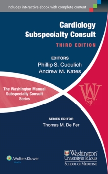 The Washington Manual of Cardiology Subspecialty Consult, Paperback / softback Book