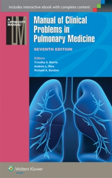 Manual of Clinical Problems in Pulmonary Medicine, Paperback / softback Book