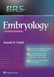 BRS Embryology, Paperback / softback Book