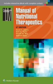 Manual of Nutritional Therapeutics, Paperback Book