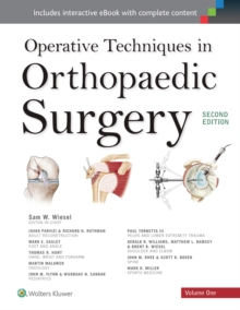 Operative Techniques in Orthopaedic Surgery 4 Volume Set, Paperback Book