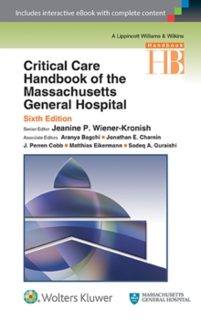 Critical Care Handbook of the Massachusetts General Hospital, Paperback / softback Book