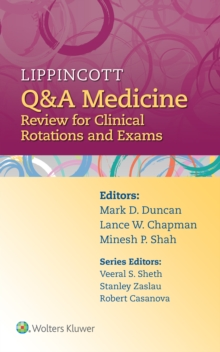 Lippincott Q&A Medicine : Review for Clinical Rotations and Exams, Paperback Book