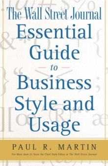 The Wall Street Journal Essential Guide to Business St, EPUB eBook