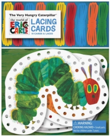 The Very Hungry Caterpillar Lacing Cards, Cards Book