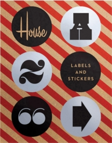 House Industries Labels & Stickers : Over 299 Typographic Stickers for Decor and Design, Stickers Book