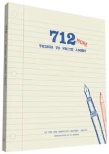 712 More Things to Write About, Notebook / blank book Book
