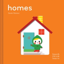 TouchThinkLearn: Homes, Board book Book