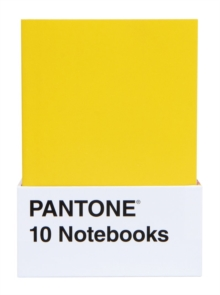 Pantone: 10 Notebooks, Notebook / blank book Book