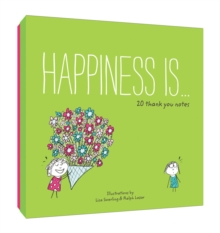 Happiness Is... 20 Thank You Notes, Notebook / blank book Book