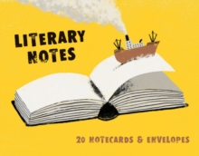 Literary Notes : 20 Notecards & Envelopes, Notebook / blank book Book