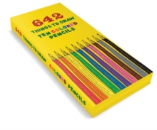642 Things to Draw Colored Pencils, Notebook / blank book Book