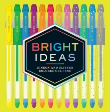 Bright Ideas Neon and Sparkle Gel Pens, General merchandise Book