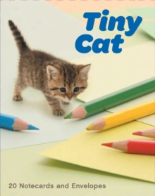 Tiny Cat Notecards, Other printed item Book