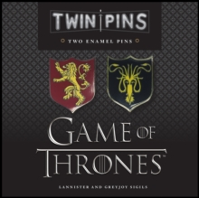 Game of Thrones Twin Pins: Lannister and Greyjoy Sigils, Other apparel Book