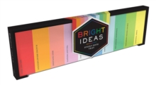 Bright Ideas Sticky Note Tray, Stickers Book