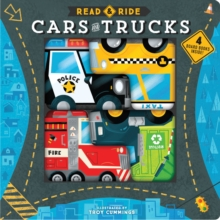 Read & Ride: Cars and Trucks : 4 board books inside!, Board book Book
