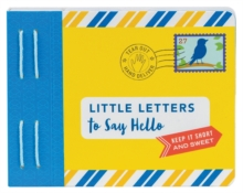Little Letters to Say Hello, Other printed item Book