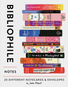 Bibliophile Notes : 20 Different Notecards & Envelopes, Other printed item Book