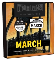 March Twin Pins : Two Enamel Pins, General merchandise Book