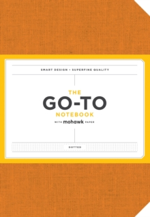 Go-To Notebook with Mohawk Paper, Persimmon Orange Dotted, Notebook / blank book Book