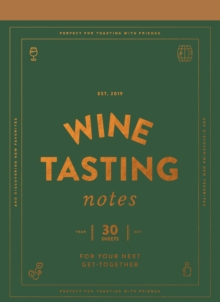Wine Tasting Notes, Other printed item Book