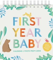 First Year Baby Calendar & Photo Prop Cards, Other printed item Book