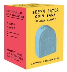Seeya Later Coin Bank, General merchandise Book