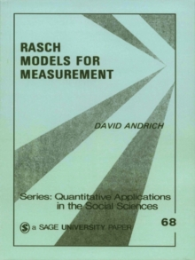 Rasch Models for Measurement : SAGE Publications, PDF eBook