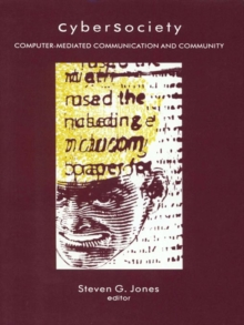 CyberSociety : Computer-Mediated Communication and Community, PDF eBook