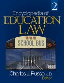 Encyclopedia of Education Law, PDF eBook