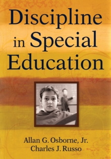 Discipline in Special Education, EPUB eBook