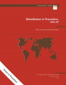 Disinflation in Transition: 1993-97, EPUB eBook