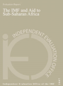 The IMF and Aid to Sub-Saharan Africa, EPUB eBook